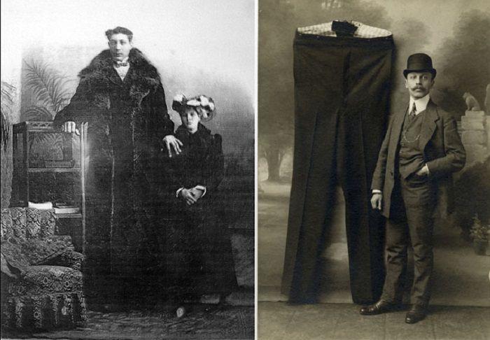 Федор Махнов - самый высокий из когда-либо живших на земле людей