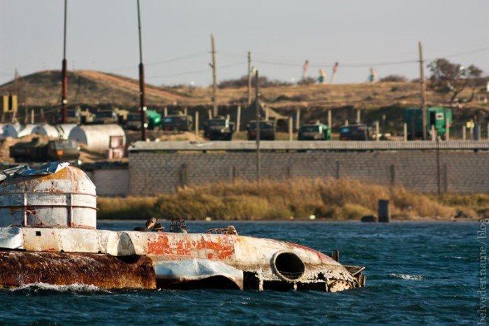 Заброшенные подводные лодки