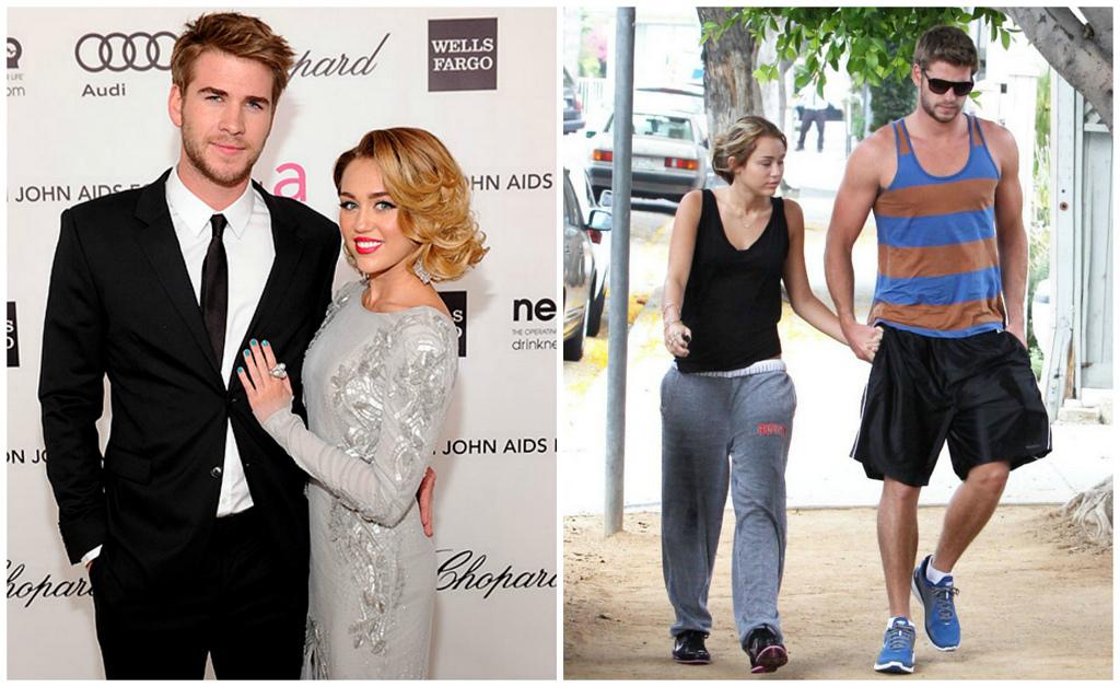 Пары знаменитостей в обычной жизни