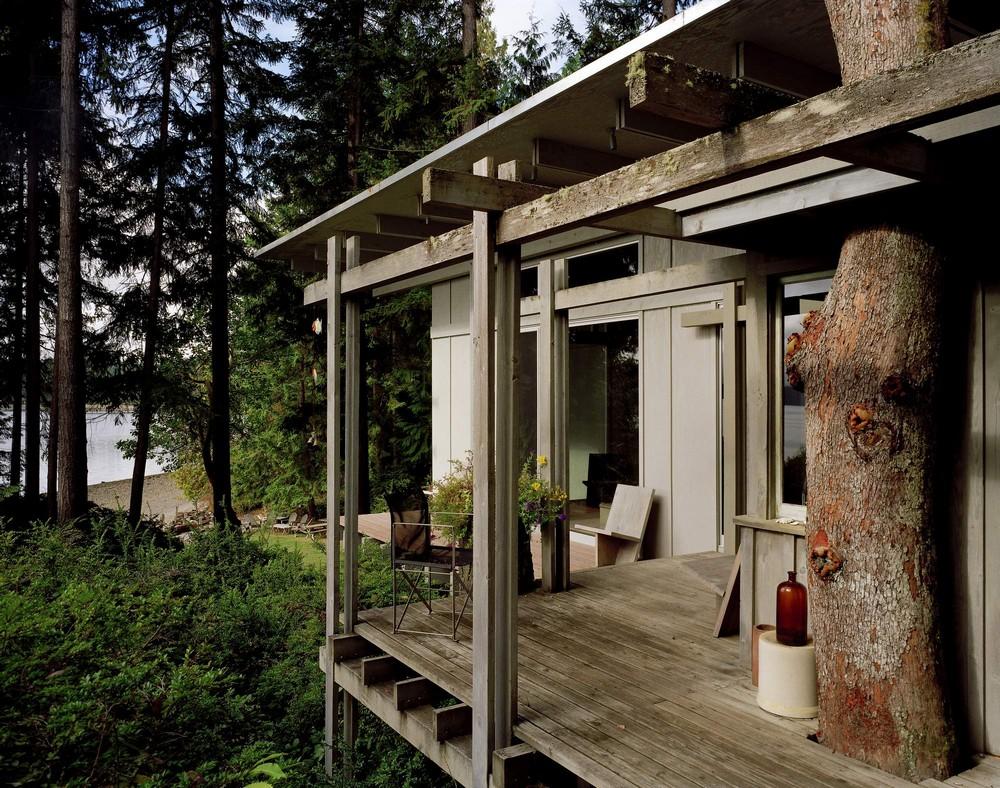 Потрясающий лесной домик в США