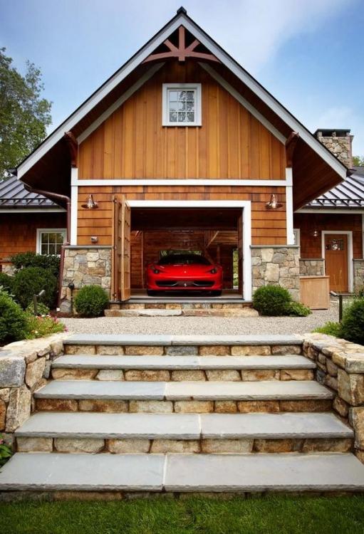 Дом-гараж для любого мужчины