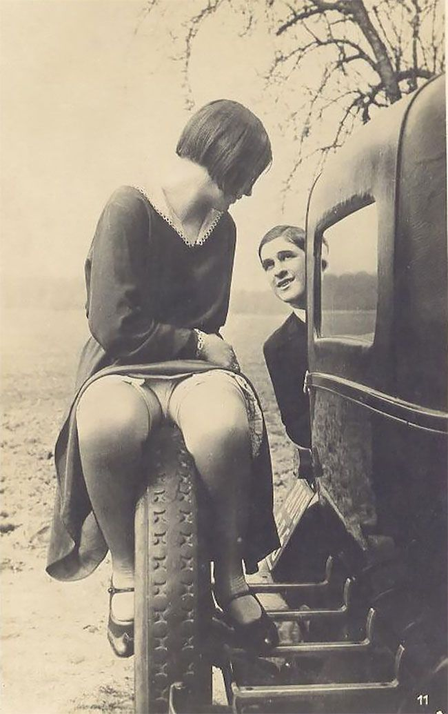 Ретро эротические открытки в 1920-е