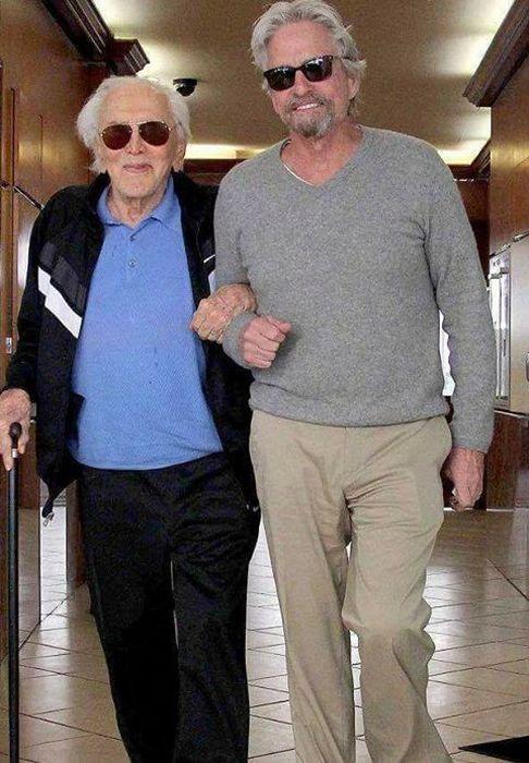 Кирк Дуглас - последний живой актер Золотой эры Голливуда