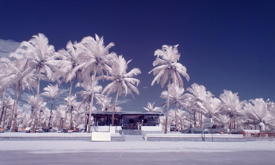 Инфракрасные снимки Гоа