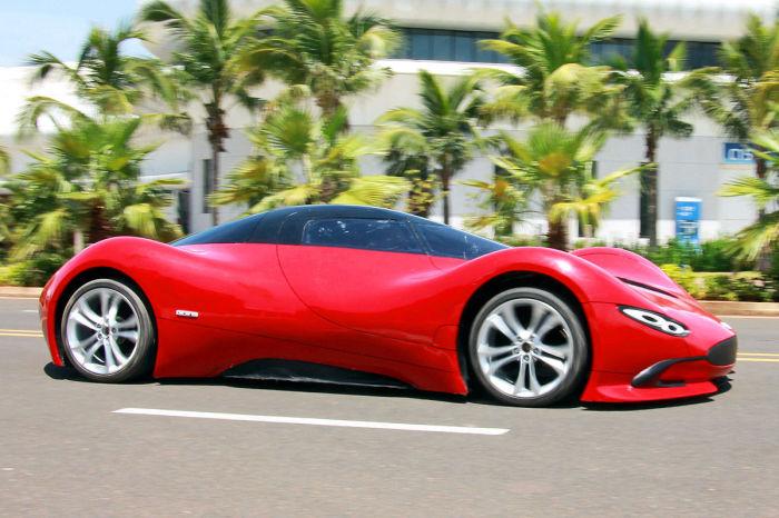Китаец самостоятельно собрал автомобиль мечты