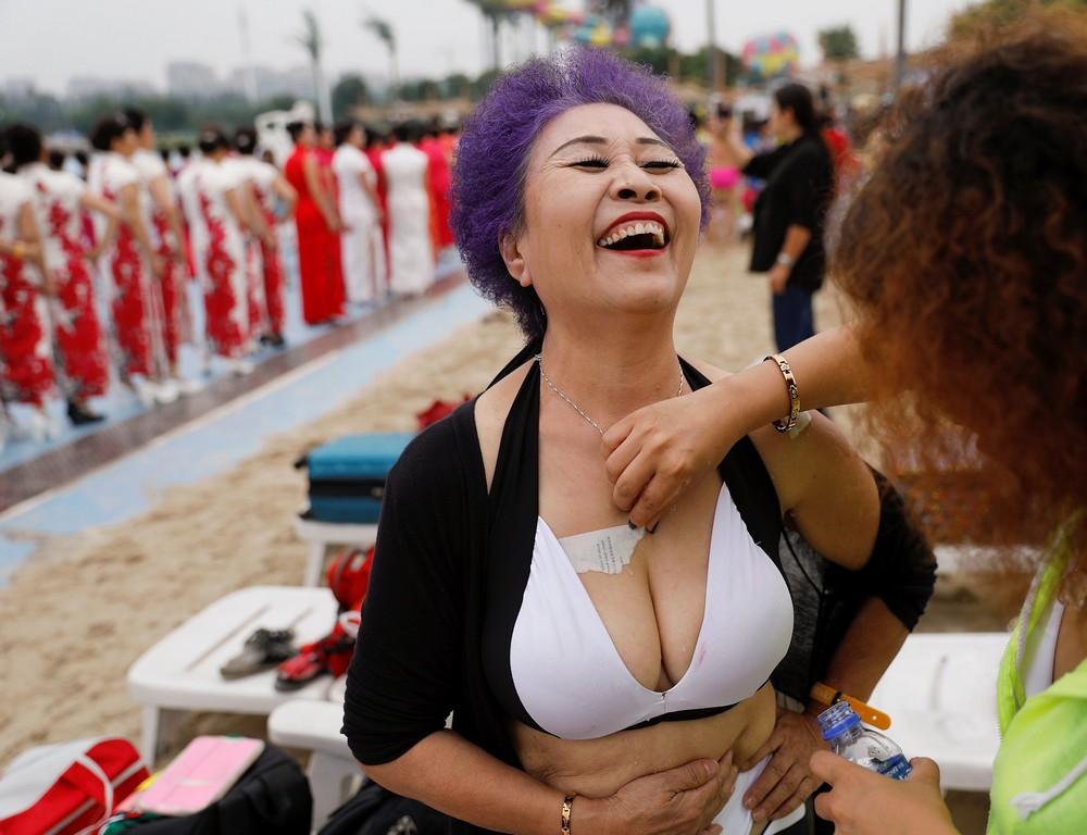 Конкурс красоты для бабушек в Китае