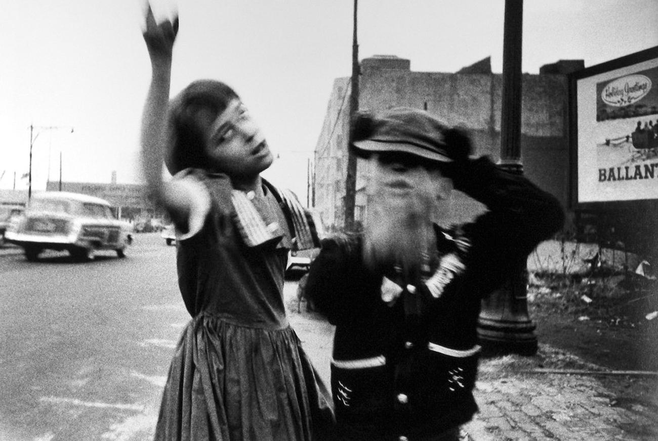 Любовь и ненависть на снимках от Уильяма Кляйна