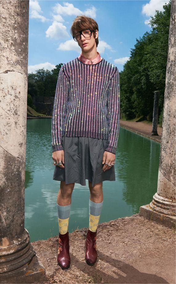 Одежда от Гуччи для мужчин 2018 года