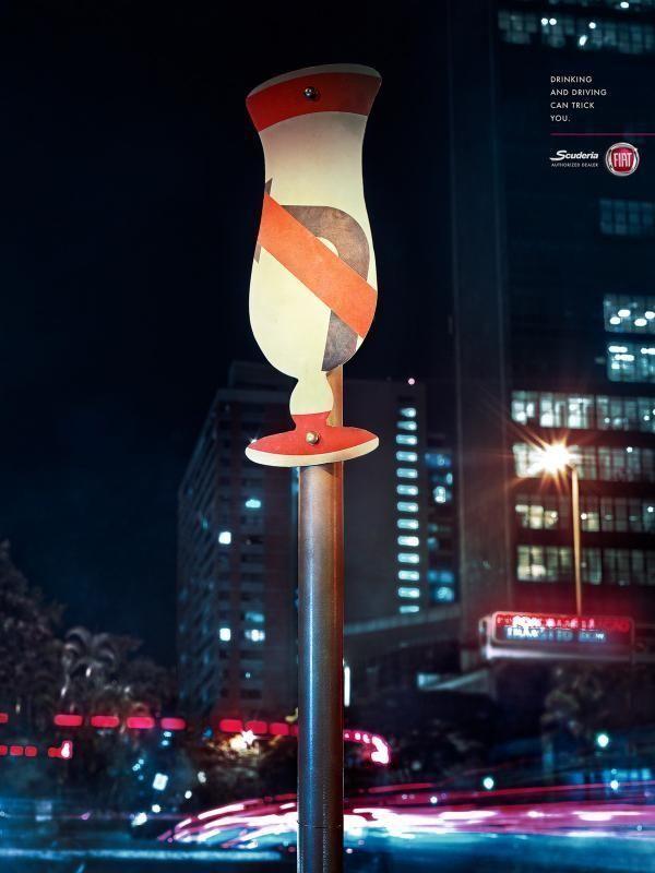 Реклама против вождения в нетрезвом виде