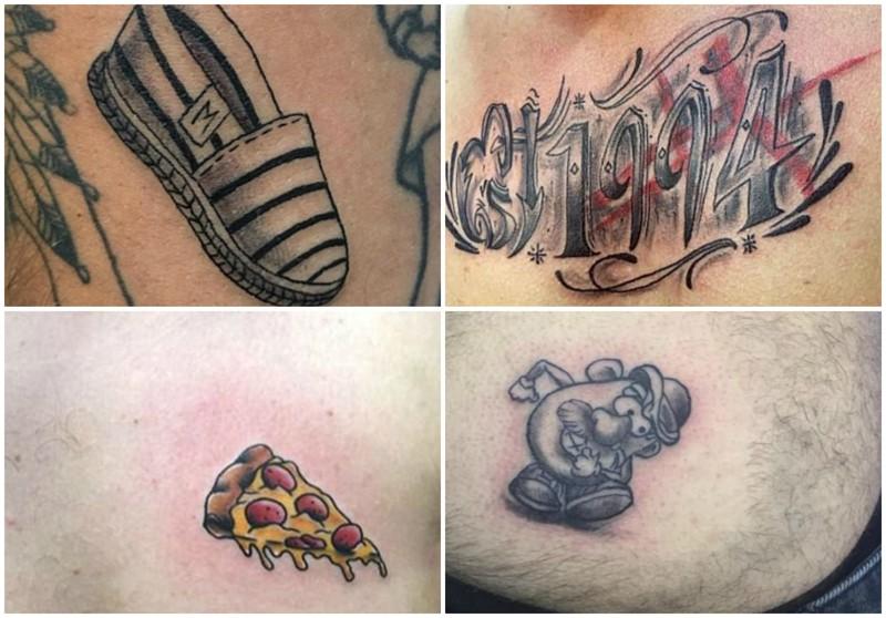 Самые нелепые татуировки, сделанные на отдыхе