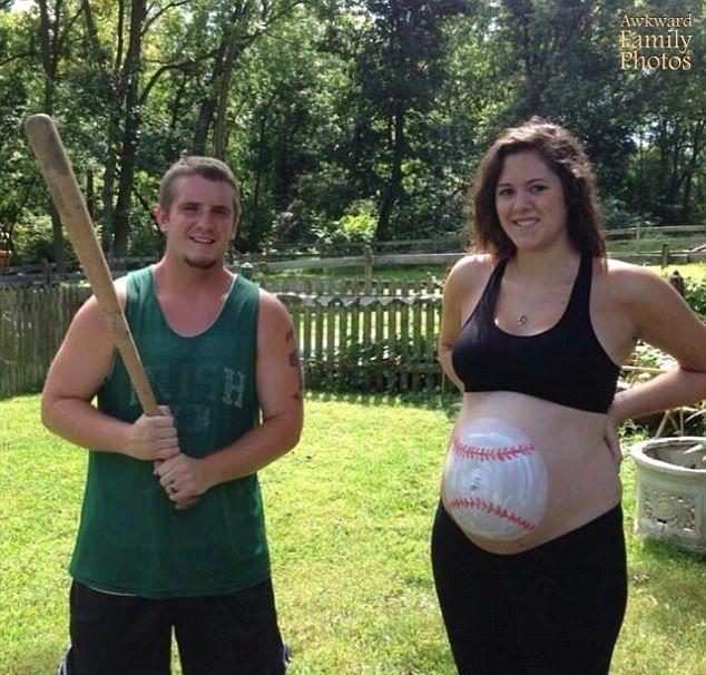 Неудачные фотосессии семейных пар в честь беременности