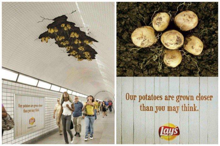Удивительные рекламные шедевры