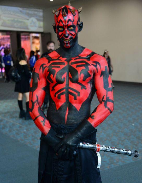 Яркие косплееры фестиваля Comic-Con 2017
