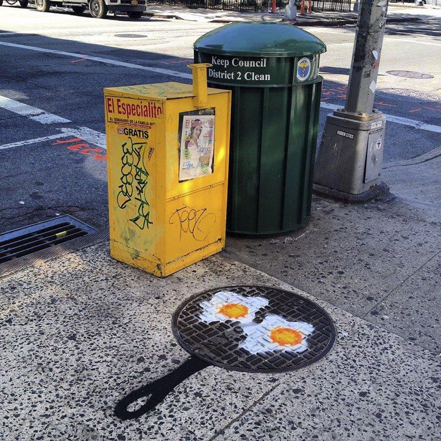 Яркий стрит-арт от Тома Боба
