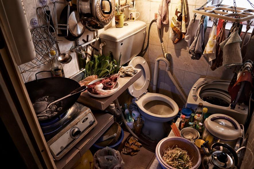 Чудовищно маленькие квартирки в Гонконге
