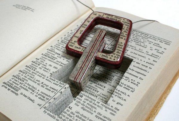Бижутерия из книг
