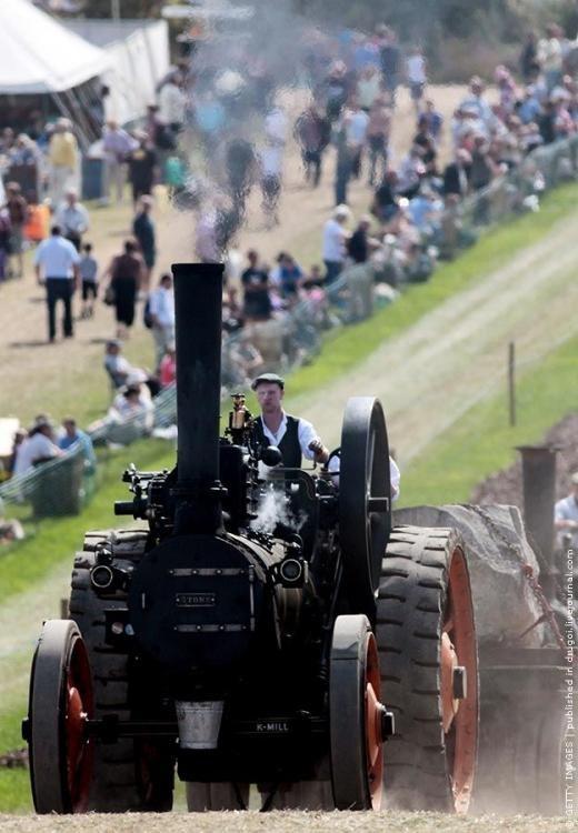 Выставка паровых машин Great Dorset Steam Fair