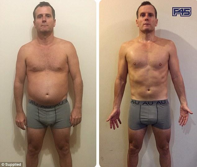 8 недель тренировок: до и после