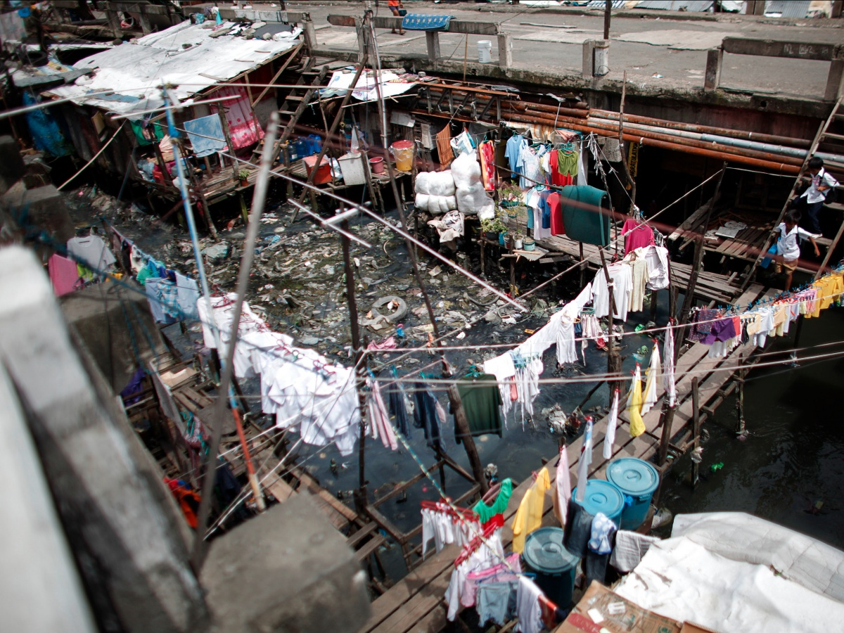 Аэроснимки трущоб Манилы — самого перенаселенного города в мире