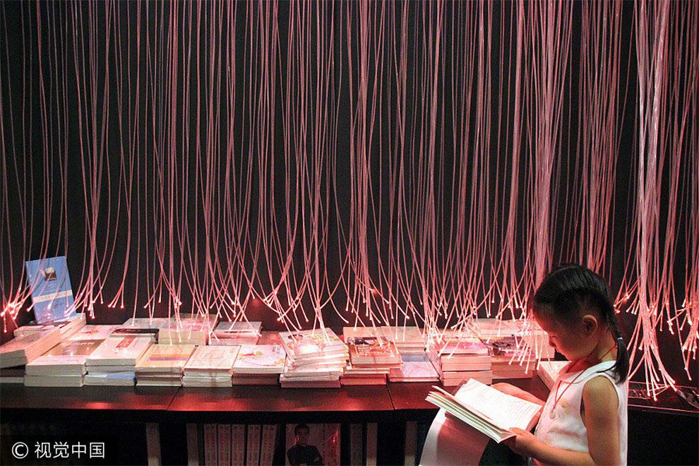 Фантастический интерьер книжного магазина в Китае