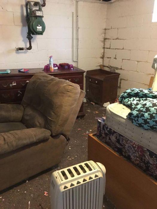 Арендаторы превратили жилье в настоящую помойку