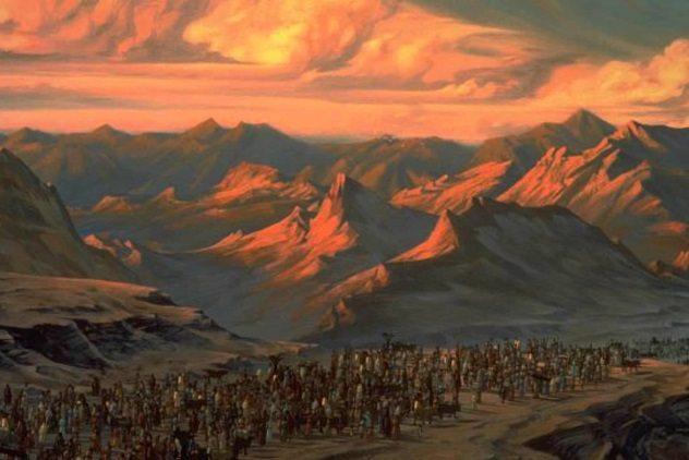 Как описаны инопланетяне в Библии