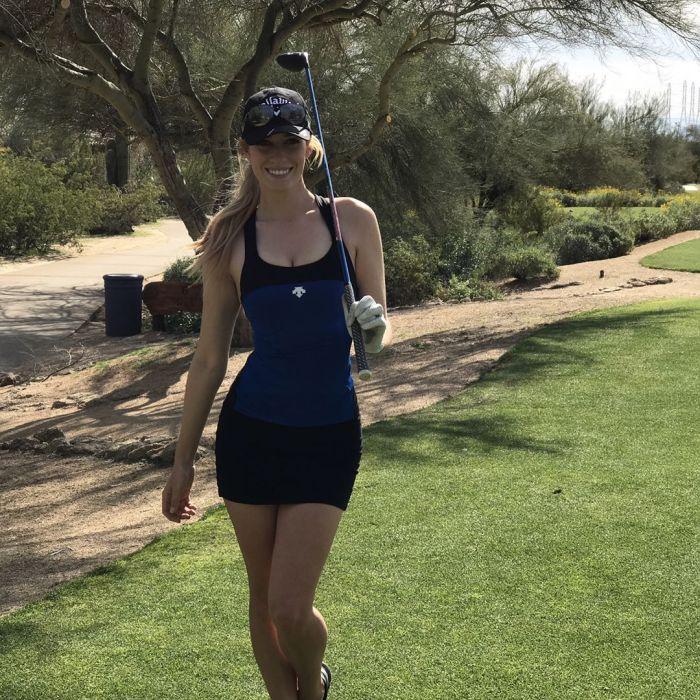Пейдж Спиранак - одна из самых красивых гольфисток мира