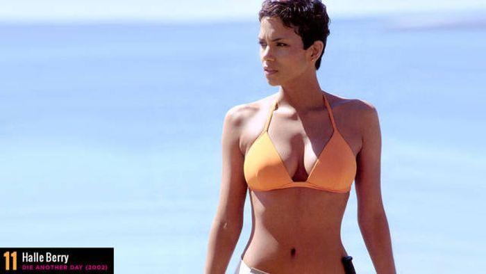 50 самых горячих кадров актрис в бикини по версии журнала Maxim