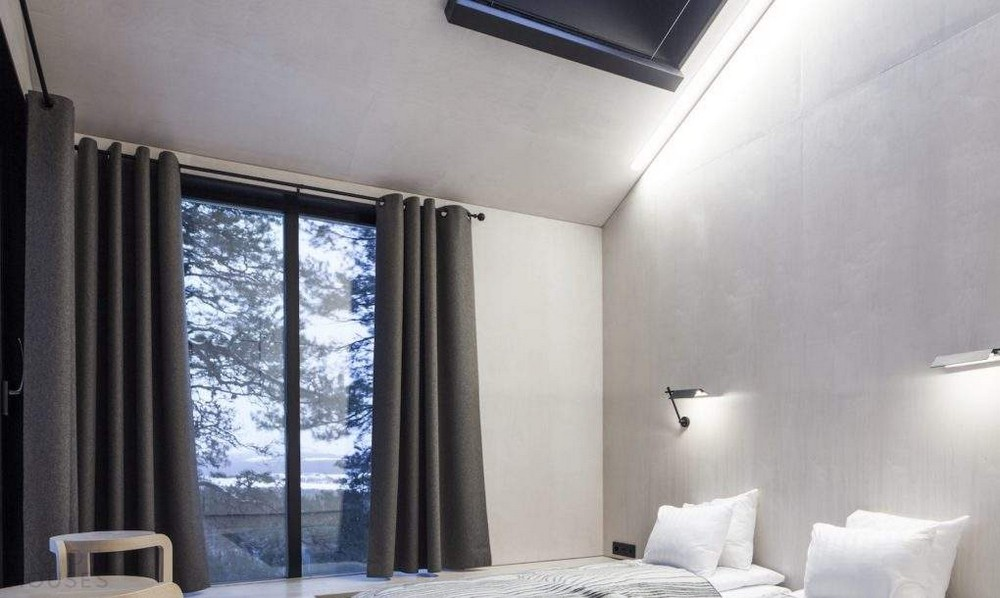Отель на дереве в Швеции