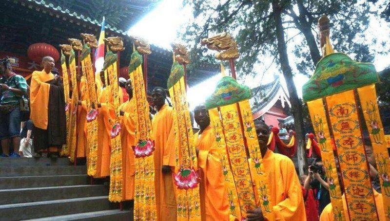 В храме Шаолинь состоялся первый в истории сбор мастеров кунг-фу