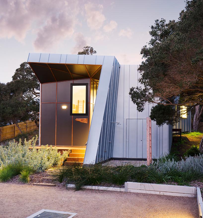 Компактный пляжный дом в Австралии