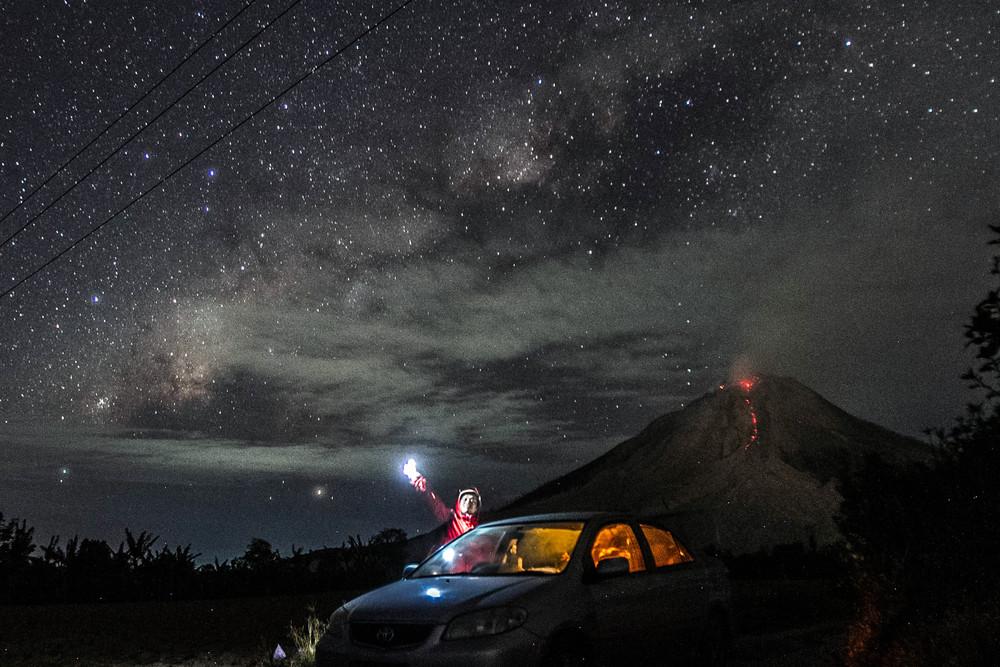 Красота ночного звездного неба