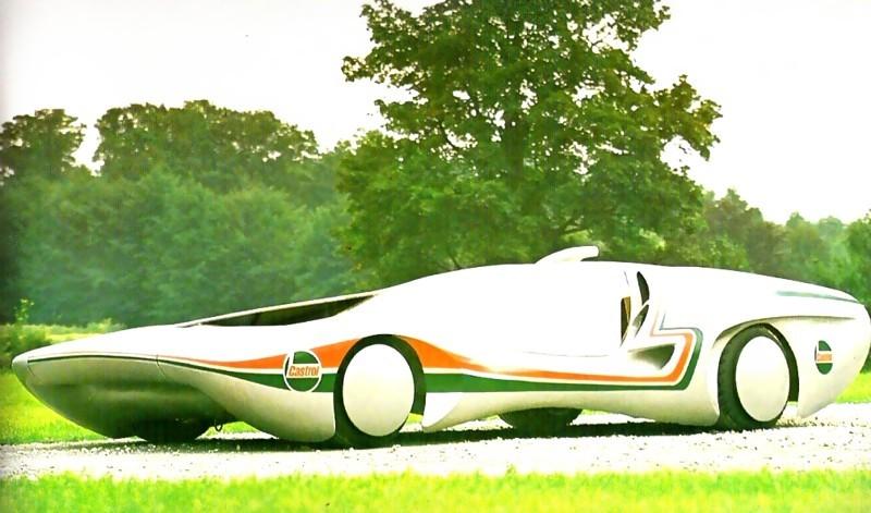 Невероятные автомобили от известного дизайнера Луиджи Колани