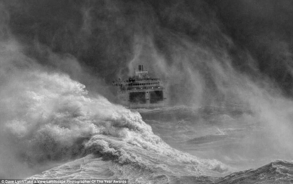 Современные суда в схватке со стихией