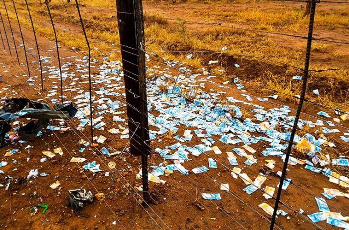В ЮАР прошел настоящий денежный дождь
