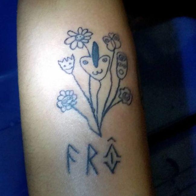 Отстойные татуировки принесли успех бразильской художнице