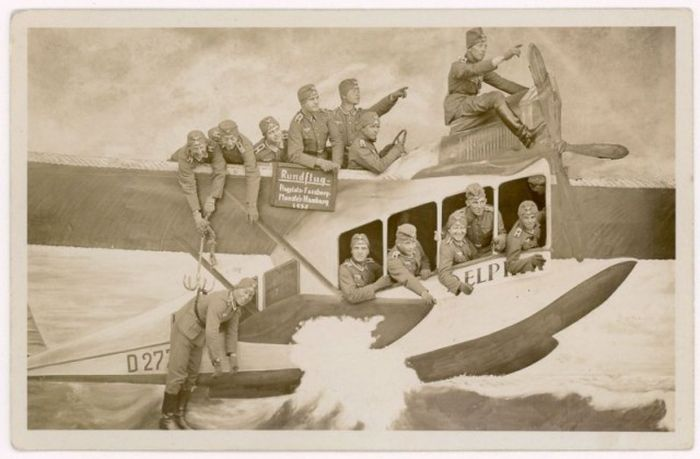 Забавные армейские снимки 1912-1945 годов