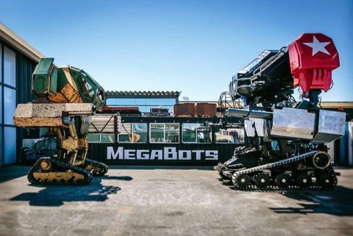 Компания MegaBots представила боевого робота Eagle Prime