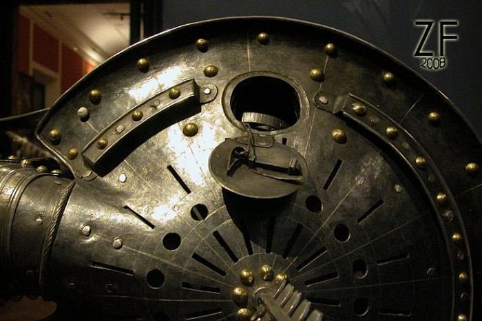 Рондаш траншейный или фонарный щит