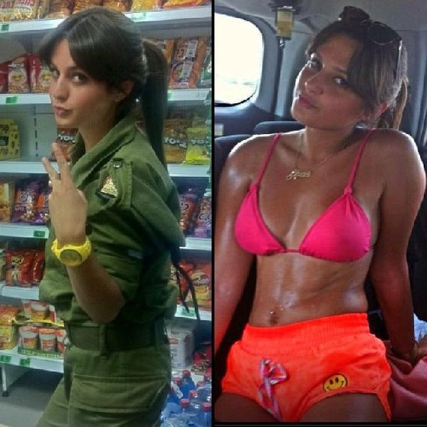Красивые девушки в израильской армии