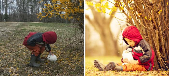 Наглядное отличие профессионального фотографа от любителя