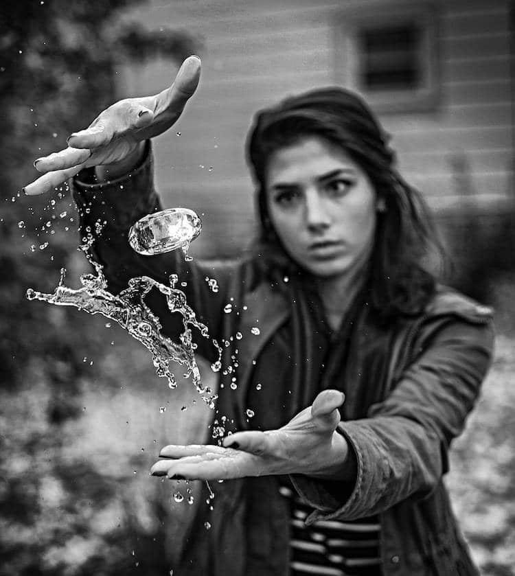 Брызги воды в фотографиях Kyle Re Creative