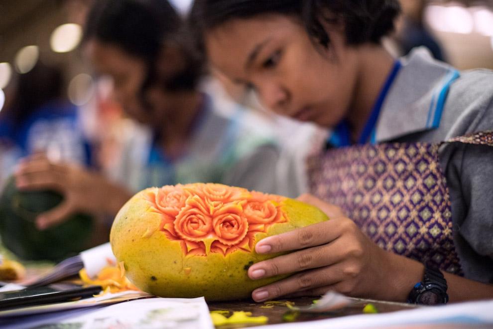 Карвинг - традиционное искусство Таиланда