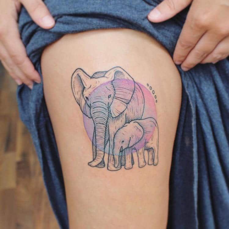 Вдохновлённые природой татуировки от Эмили Кол