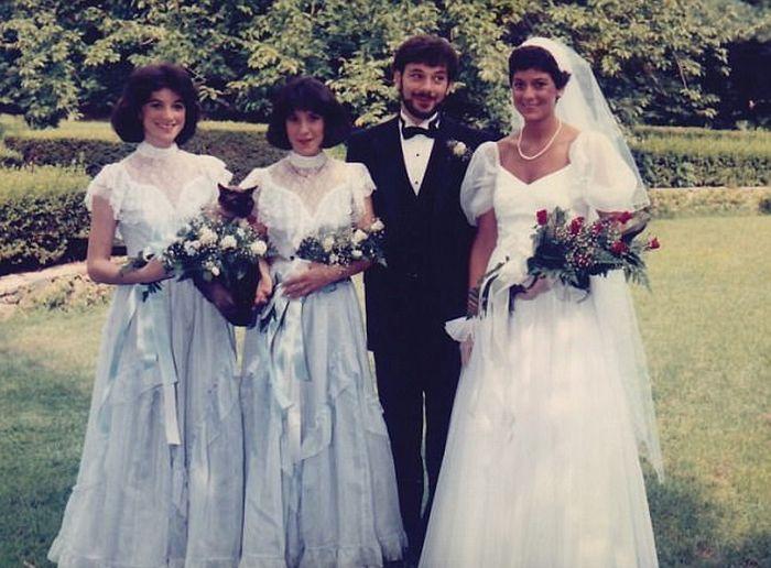 Странные и забавные свадебные фото