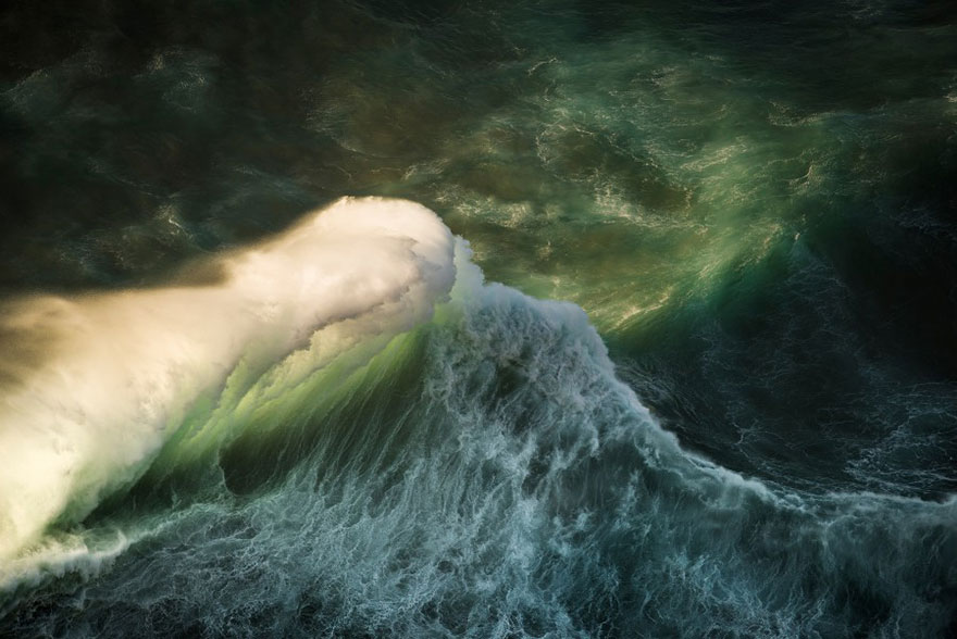Величественная мощь океанских волн от Люка Шадболта