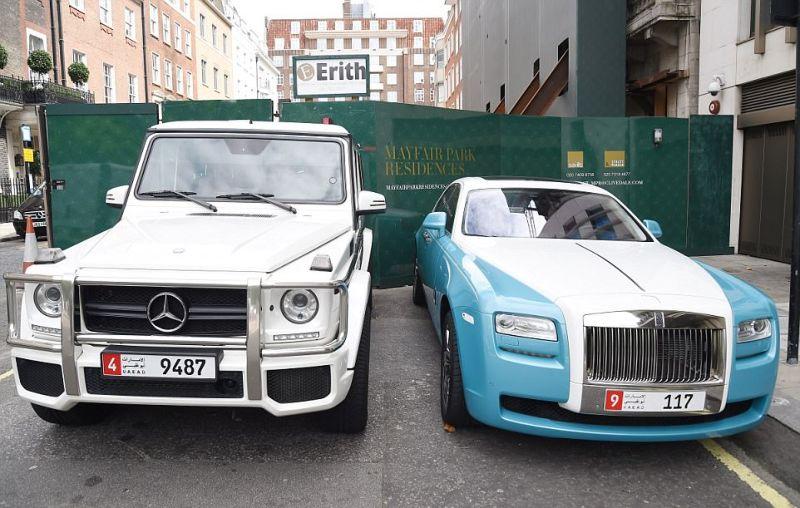 Арабские богачи открыли в Лондоне сезон крутых тачек