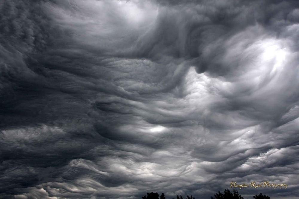 Асператус — самые устрашающие облака