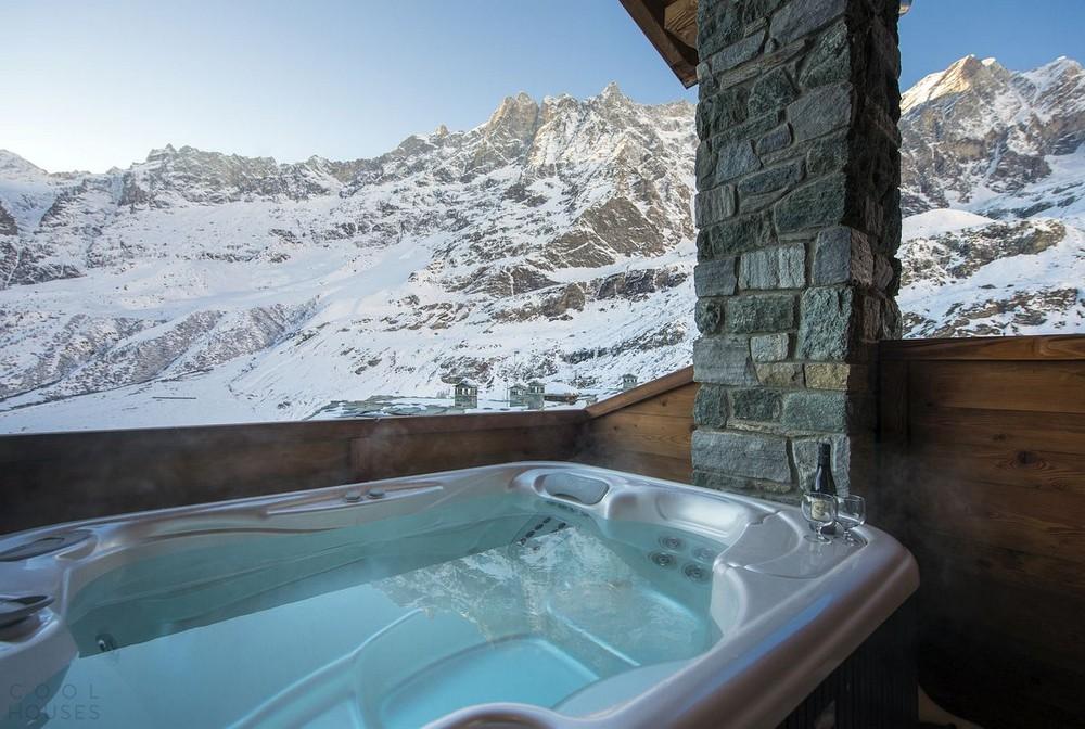 Четырехзвездочный отель в горах Италии