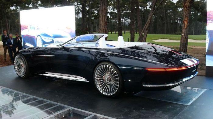 Концепт роскошного кабриолета Vision Mercedes-Maybach 6